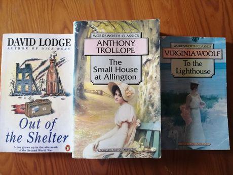 Livros clássicos em Inglês, em bom estado