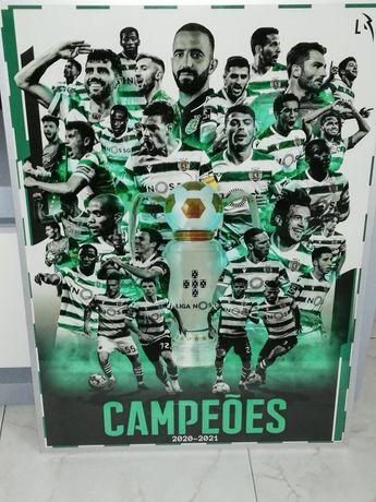 Poster Sporting Campeão nacional