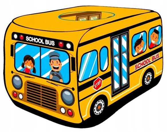 NAMIOT Dla Dzieci Autobus Szkolny DUŻY 110 cm BUS
