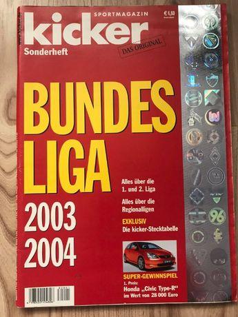 Skarb Kibica Kicker Liga Niemiecka 2003/04