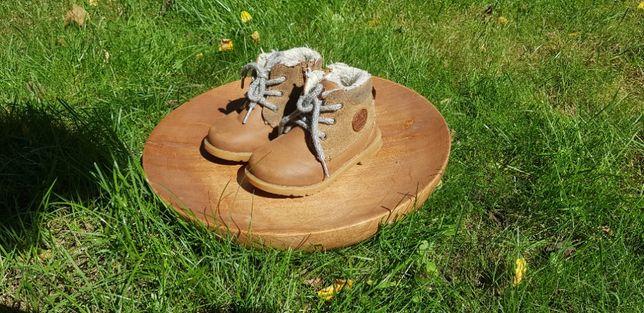 Buty bucik, dziecięcy zimowy, ocieplany Smyk Mało używany