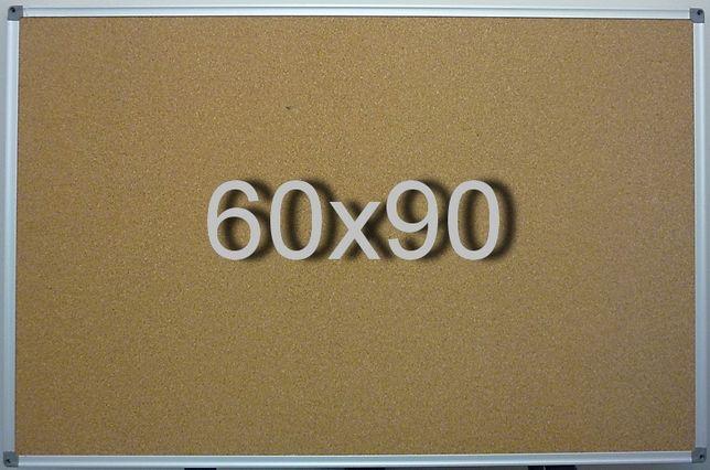 Пробковая доска 60х90 см