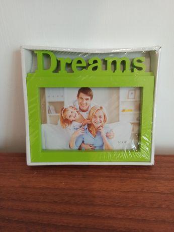 зелёная рамка для фото семья мечты фотографии подарок альбом dreams