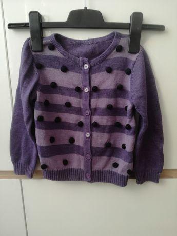 Rozpinany sweterek coccodrillo roz 104