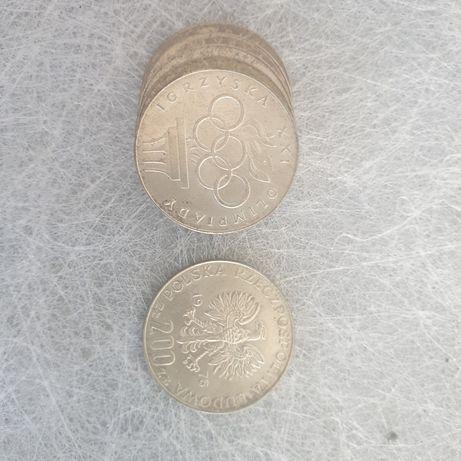 Monety 200zł Igrzyska XXI Olimpiady z 1976 roku