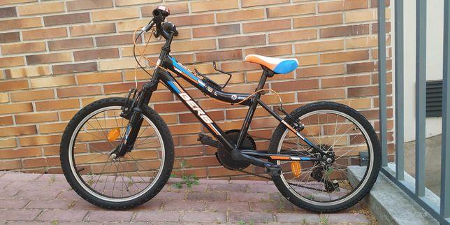Bicicleta Berg de criança (roda 20), 6 mudanças e suspensão dianteira