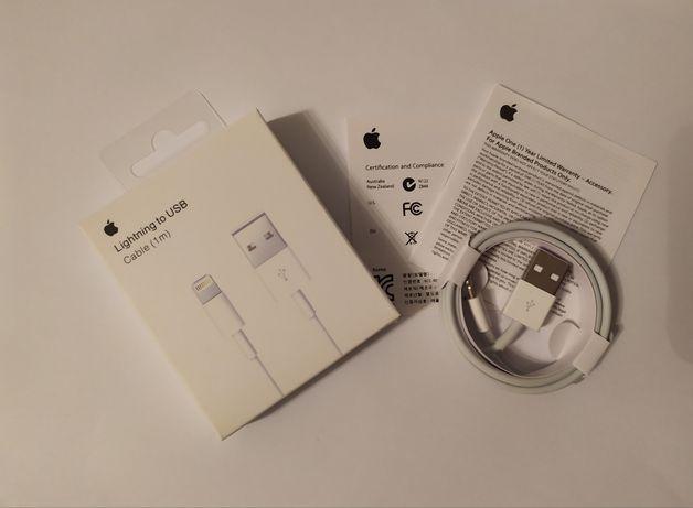 Nowy! Kabel Apple Lightning USB iPhone 5 7 8 X Wyprzedaż !