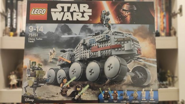 Lego 75151 - NOVO - Star Wars Clone Turbo Tank
