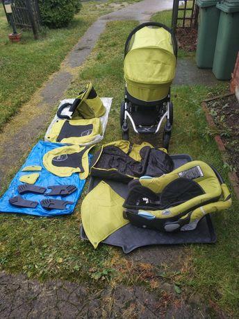 Wózek Wielofunkcyjny XLander Xpram, gondola,sportówka,spacerówka,fotel