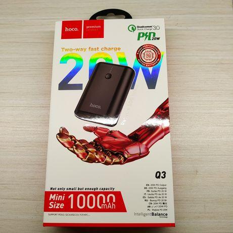 ПЗУ внешний павербанк батарея УМБ Hoco зарядное устройство 10000