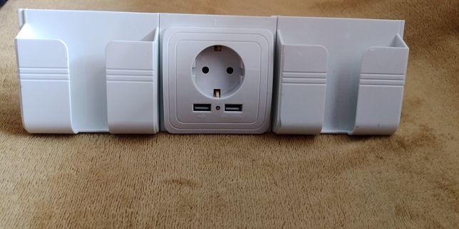 Gniazdo elektryczne + usb