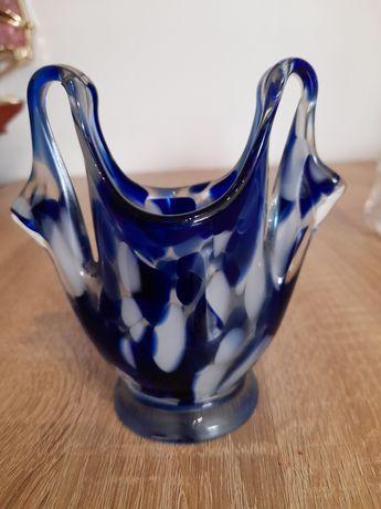 Mały wazon wazonik kolorowe szklo