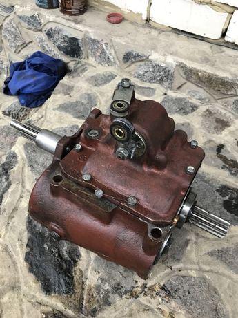 КПП УАЗ 452 (4-х ступенчатая, усиленная, нового образца, бр.-синхрон в