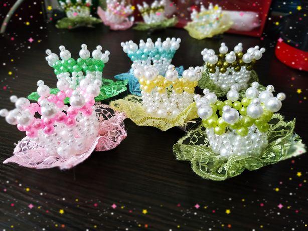 Заколки-короны для настоящих принцесс