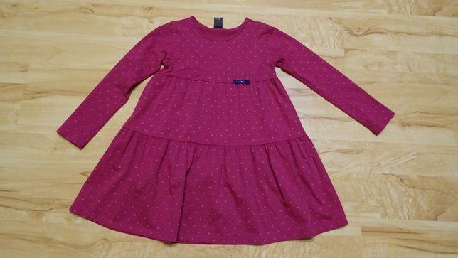sukienka wiosenna w rozmiarze 122