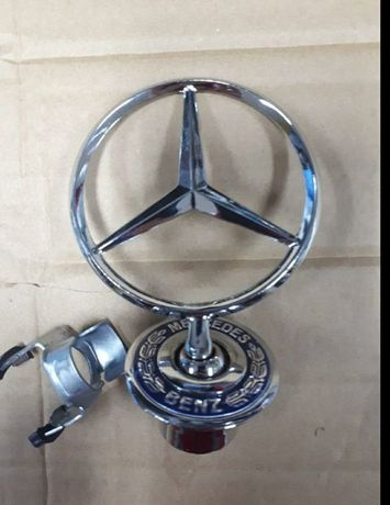 Эмблема на капот Mercedes прицел кузов 124, 202, 210, 220, 211, 212