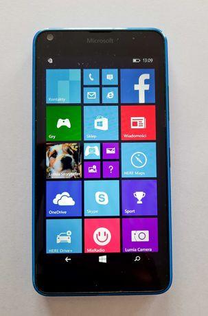 MICROSOFT LUMIA 640 LTE niebieska (stan bardzo dobry)