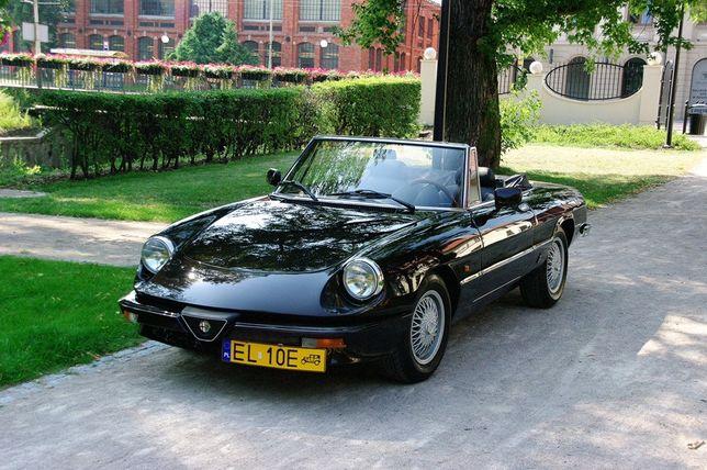 Alfa Romeo Spider Veloce 1983r - Samochód/Auto do ślubu!