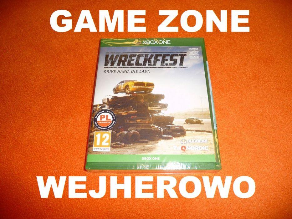 Wreckfest Xbox One + S + X = PŁYTA PL Wejherowo = Destruction Derby