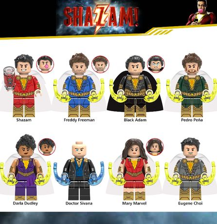Bonecos / Minifiguras Super Heróis nº145 DC Comics (compativeis Lego)