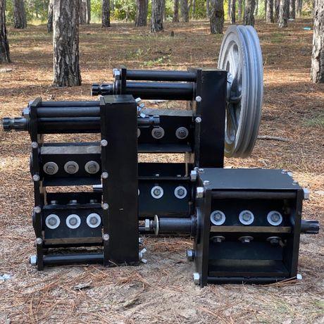 Измельчитель/дробилка веток Подрібнювач гілок режущий модуль до 120мм