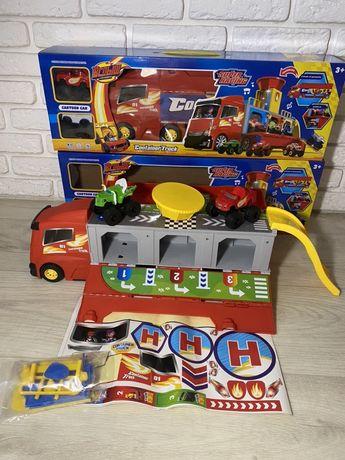 Автовоз-Парковка Вспыш и Чудо-машинки, музыкальный автовоз