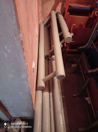 Металические трубы отопления