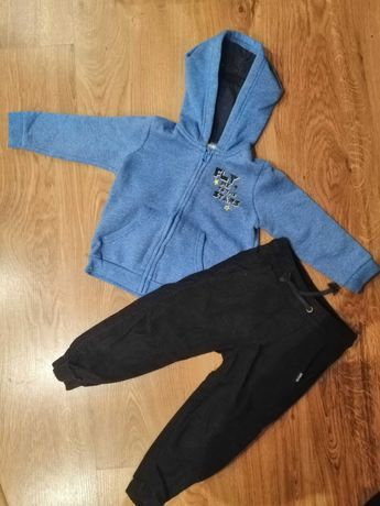Zestaw dla chłopca, dres, spodnie sztruksy, spodnie dresowe, bluza