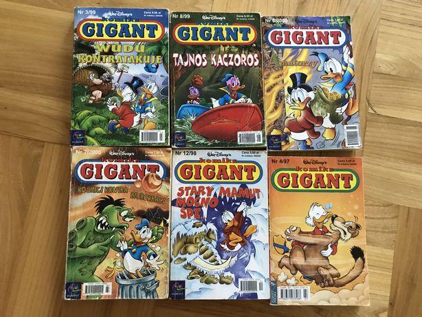 Komiksy Gigant różne