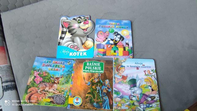 Książka bajka dla dzieci 5 szt zestaw 10