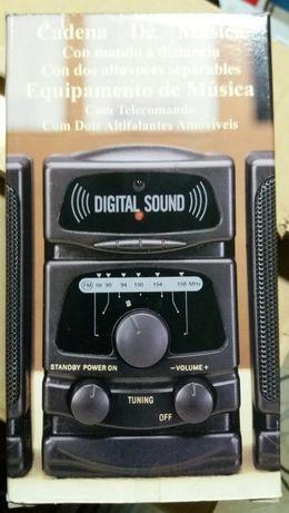 Rádio - Sistema som FM