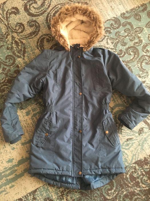 Piękna zimowa przedłużana kurtka 146/152 Zawiercie - image 1