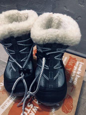 Зимние ботинки 22-23р