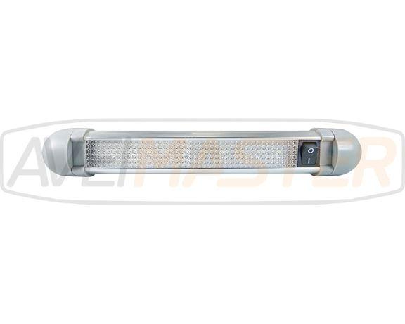 Barra Iluminacao INT Orient c/Inter Alu 225mm 10 SMD 12/24v 043800