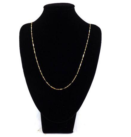 Śliczny złoty łańcuszek 585 2,34G