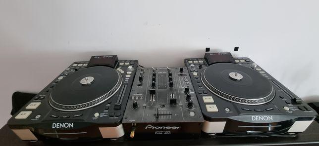 Denon dn-s3700 + mixer Pioneer DJM-400