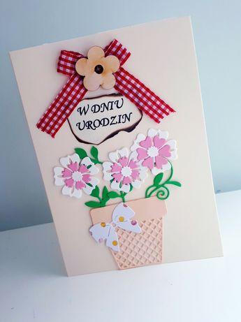 Kartka urodzinowa handmade