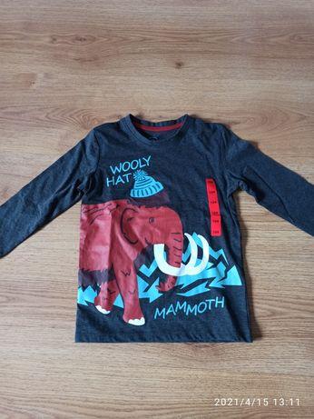 Koszulka z długim rękawem, nowa. Pepco 104. Mamut