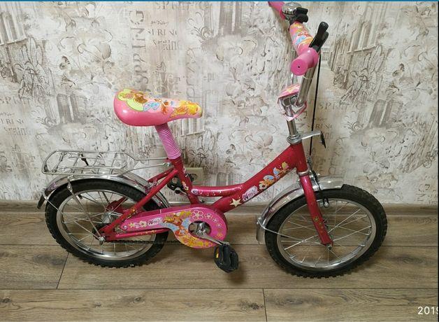 """Продам велосипед для девочки. Колеса 16"""""""