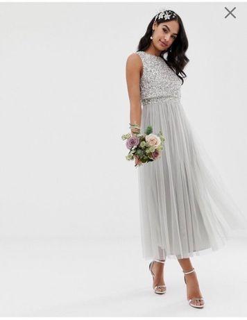 Sukienka ASOS 3 sztuki!!! Sukienki dla druhen!!!