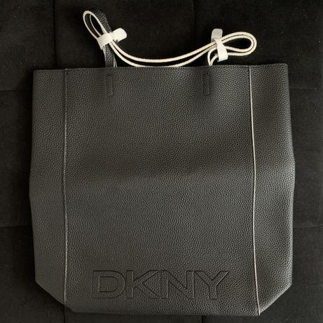 DKNY Donna Karan New York torebka czarna shopperka