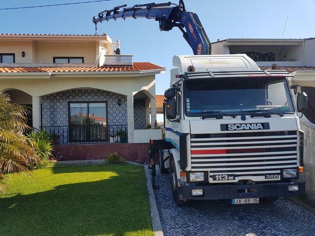 Serviços de aluguer de camião grua