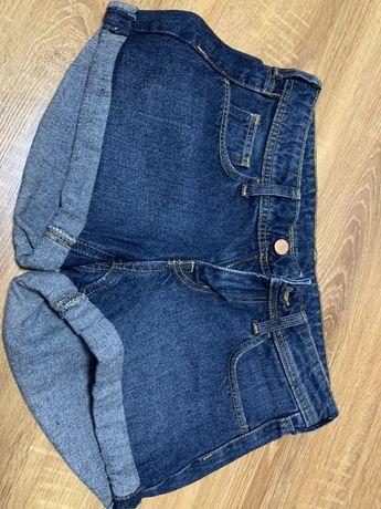 Spodenki jeansowe 34