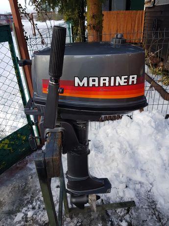 Silnik zaburtowy Mariner 4, 2suw, krótka stopa. Stan idealny.