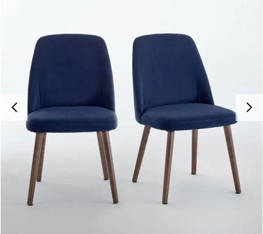 Vende-se Cadeira Veludo Azul