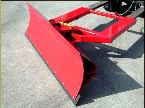 Pá metálica para garfos de empilhador rotação a 30º 2000x500 mm