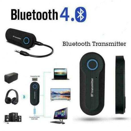 Transmissor de Áudio Bluetooth 4.0 USB cabo jack 3.5 Novo