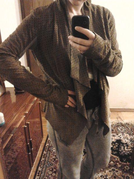 Оригинальная замшевая куртка twin set