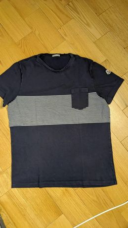 Moncler футболка синя оригінал