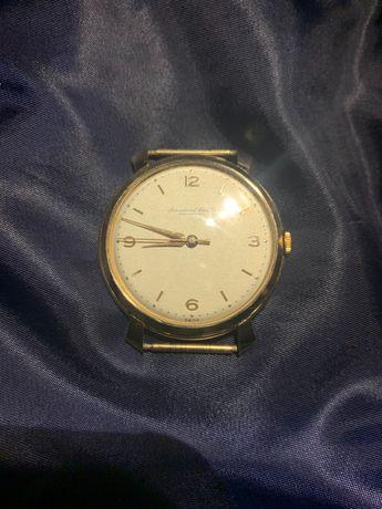 IWC SCHAFFHAUSEN złoty zegarek
